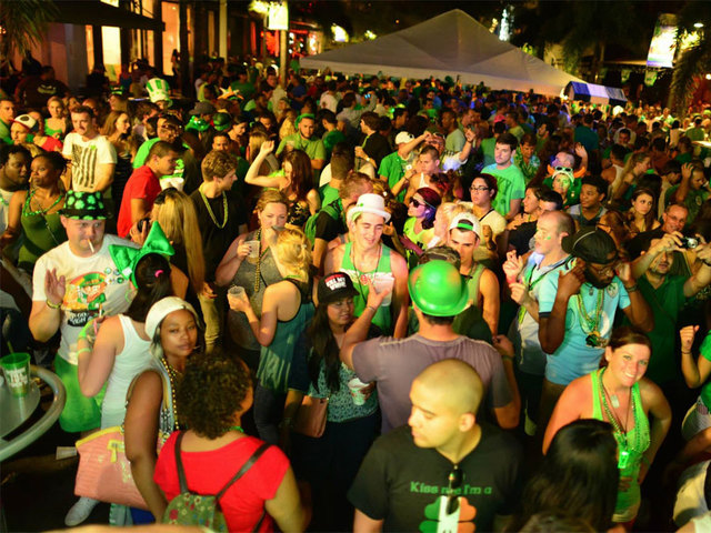 St Patrick S Block Party Of West Palm Beach